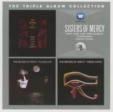 THE SISTERS OF MERCY The Triple Album Collection 3CD SET 2012
