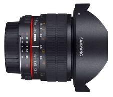 Objetivos manuales Samyang para cámaras Canon
