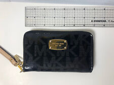 Michael Kors wallet Black Leather women
