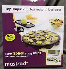 Mastrad A64601 Top Chips Maker and Slicer Set!! NIB!!