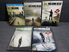 The Walking Dead Season 1 on Blu-ray and  2, 3, 4 and 5 on DVD