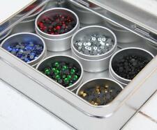 Threadart Hot Fix Rhinstone Set - Popular Colors - SS10 - Includes 6 Colors -...