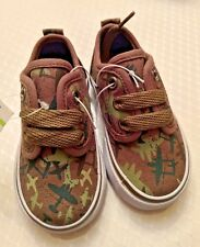 New Koala Kids Sneakers Basketball Style Baby Toddler CAMOFLAGE Airplane Size 4