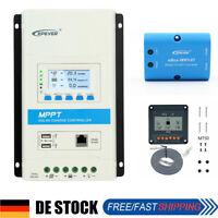EPEVER MPPT Solar Laderegler Regulator 20A,30A,40A eBox or MT50 or Zubehör DE