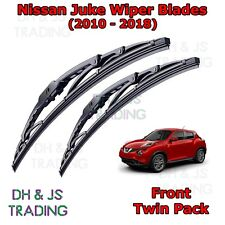 "(10-18) Nissan Juke Front Wiper Blades Windscreen 22"" 14"" Hook Type Wipers"