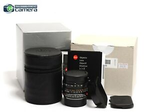 Leica Summilux-M 35mm F/1.4 ASPH. FLE 6Bit Lens Black 11663 *BRAND NEW*