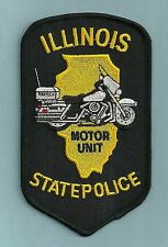 ILLINOIS STATE POLICE MOTORCYCLE UNIT PATCH