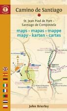 Camino de Santiago Maps - Mapas - Mappe - Mapy - Karten - Cartes : St. Jean...