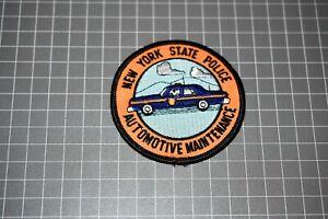 New York State Police Automotive Maintenance Patch (B-NY)