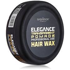 [ELEGANCE] TRANSPARENT POMADE PROFESSIONAL USE HAIR WAX 5.3OZ