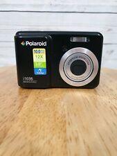 Polaroid I1035 10.0MP Digital Camera - Black~~MINT~~With 2 GB Sd card and bag.