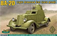 Ba-20 (late production series/conical turret) << ACE #48109, 1:48 scale