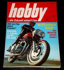Hobby 08/69 Porsche 917, Clymer-Münch, Honda CB 750, Kawasaki 500, Eiffelland