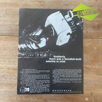 VINTAGE 1964 HASSELBLAD SWC PHOTOGRAPHY CAMERA ORIGINAL PRINT ADVERTISEMENT