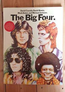 The Big Four Magazine, David Cassidy, David Bowie, Marc Bolan, Michael Jackson