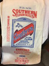 Southern Best  flour sack bag new condition BAG ONLY , NO FLOUR !