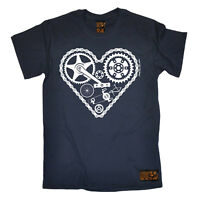 Cycling Heart Parts bicycle cycle funny top Birthdaytee For Him T SHIRT T-SHIRT