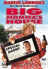 BIG MOMMA'S HOUSE - BRAND NEW & SEALED R4 DVD - MARTIN LAWRENCE, NIA LONG