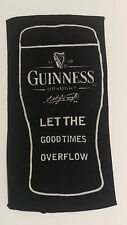 Guinness bar towel 2004 promo let the good times overflow