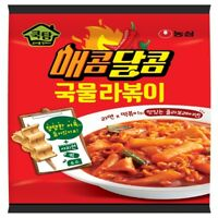 Korean Instant Hot Spicy Sweet Taste MAECOM DALCOM GUKMUL RAPOKKI Topokki Noodle