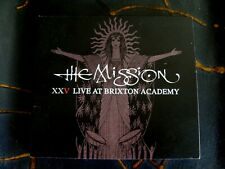 Slip CD Double: The Mission : XXV Live  At Brixton Academy 2011