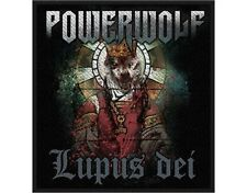 POWERWOLF lupus dei 2012 - WOVEN SEW ON PATCH - official merchandise