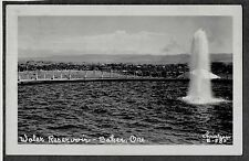 VINTAGE OLD 1951 RPPC BAKER OREGON WATER RESERVOIR CHRISTIAN 5-585 PC POSTCARD