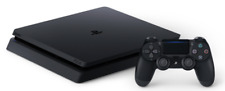 Sony PlayStation 4 Slim (PS4) - 500 GB Jet Black Console System (with Controller