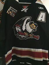 "2010-011 Echl Ahl Bakersfield Condors ""A"" Ryan Kaip Game Worn Hockey Jersey"