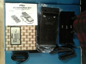 Nikon DC Battery Pack SD-7 NEW!
