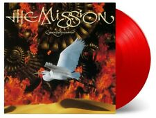 THE MISSION - CARVED IN SAND (LTD RED VINYL)   VINYL LP NEU