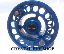 NEW GALVAN R-5 SPARE SPOOL FOR RUSH LT 5 FLY REEL BLUE FOR 5-6 WT FREE SHIP