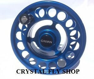 NEW GALVAN R-8 SPARE SPOOL FOR RUSH LT 8 FLY REEL BLUE FOR 7-9 WT FREE SHIP