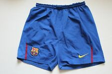Barcelona Spain Barsa Football Shorts Soccer Nike Size S Blue Mens Adult Home