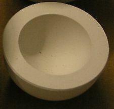 Gipsform Halbkugel Gießform für Keramik Eindrückform  töpfern Modellierton