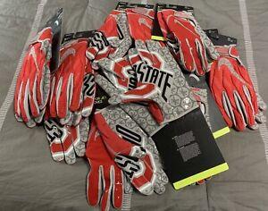 Nike Vapor Jet Ohio State Receiver Gloves WR Size Sz 3XL New Rare