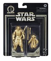 """Hasbro Star Wars 3.75"""" Skywalker Saga Commemorative Edition Darth Maul & Yoda"""