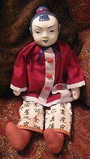 VINTAGE tradizionale bambola orientali-Porcellana e Stoffa