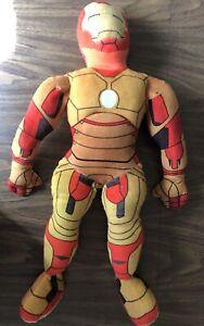 "Marvel Kids Ironman 3 26"" Pillowtime Pal Iron Man 26"" Pillow Pal Cuddle Plush"