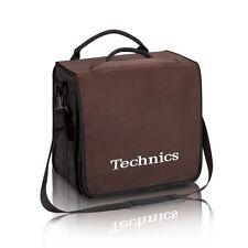 Technics DJ Record Bag Ruck Sack 50 vinyl LP Brown / White Logo SL1200 SL1210