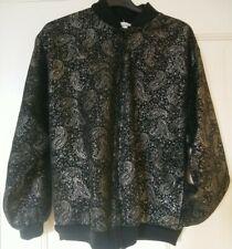 Vintage Retro Damart Ladies Zipped Bomber Jacket
