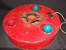 Vintage Antique Industrial 1926 Belmont Treeliter Christmas Tree Metal Stand
