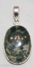argento sterling ORBICOLARE DIASPRO ciondolo gioielleria no.3147