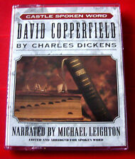 Charles Dickens David Copperfield 2-Tape Audio Book Michael Leighton