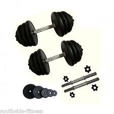 20kg Dumbell Weight Set great for beginner, strength training, includes dumbells