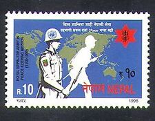 Nepal 1998 Military/UN Peace Keeping/Soldiers/Army/Map/Animation 1v (n37215)