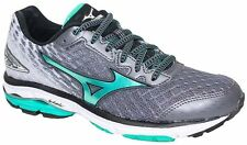 Mizuno Wave Rider 19 Womens Running Shoes (B) (J1GD160334 Quiet Green)
