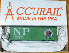 Accurail HO #3502.9 (Rd #46147) NP Northern Pacific (40' AAR Steel Boxcar Kit)