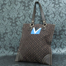 Rise-on LOUIS VUITTON 2005 LV CUP MONOGRAM MINI LIN TANGIER Brown Tote Bag #5