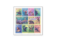 MNG9901 Birds of prey - falcons 12 pcs. MINT MONGOLIA 1999
